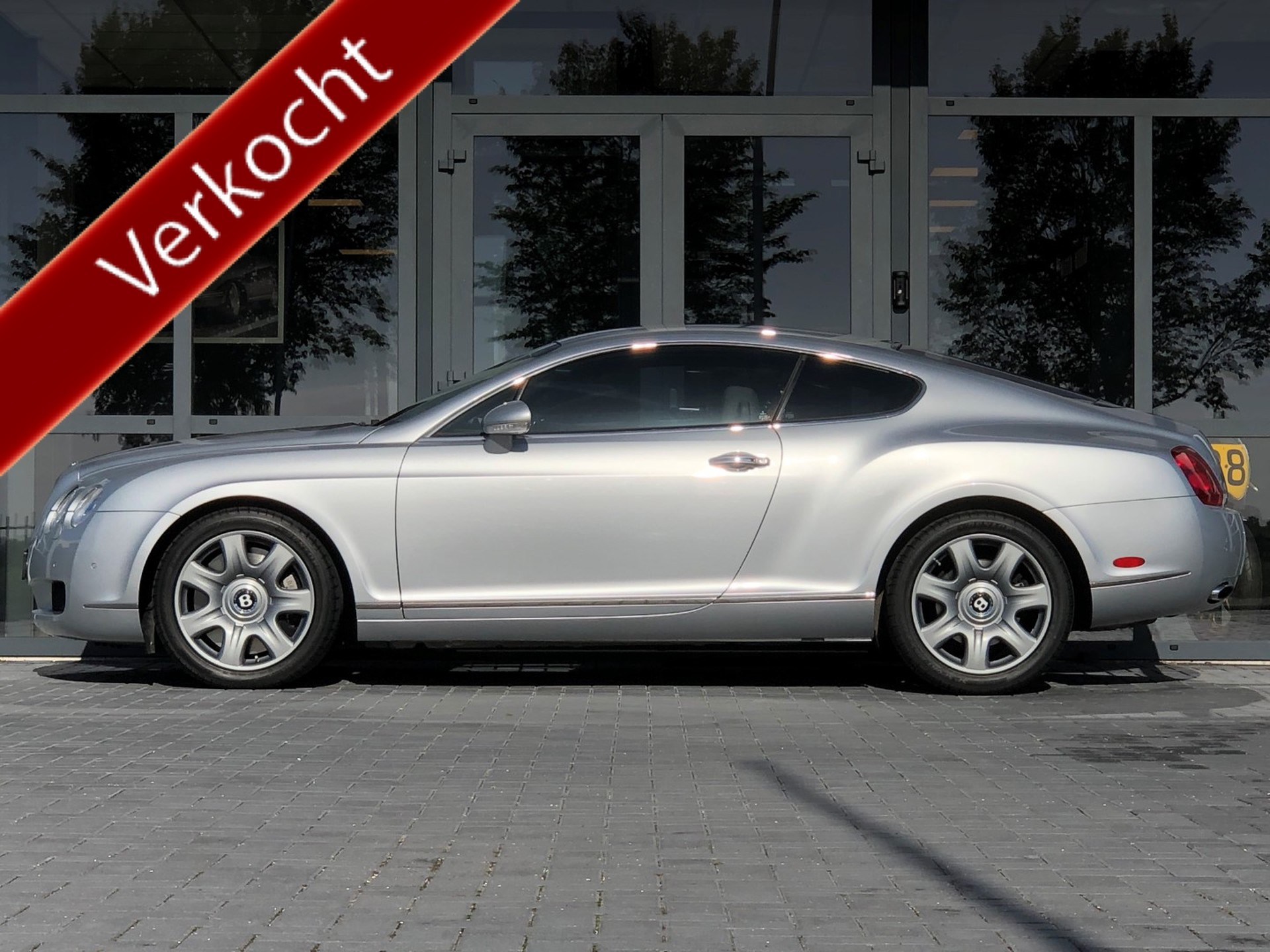 Bentley-Continental GT-6.0 W12 Dealer onderhouden, Navi, ECC, Bleutooth !!!-Auto Jonkman